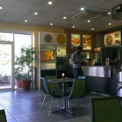 Photo taken at Debonairs Pizza by Mohammed M. on 12/15/2012