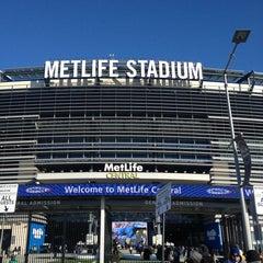 Photo taken at MetLife Stadium by Julio A. on 12/30/2012