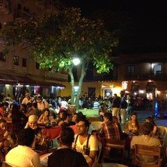 Photo taken at Plaza Santo Domingo by Carlos M. on 1/5/2013