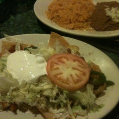 Photo taken at Tequila's Restaurante Mexicano by Tricia P. on 12/30/2012
