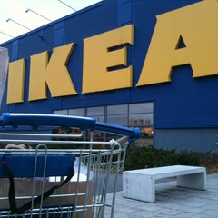 Photo taken at IKEA by Fredrik Å. on 11/1/2012