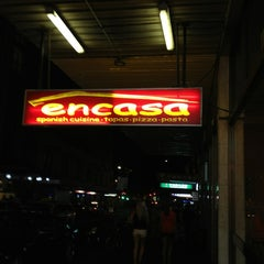 Photo taken at Encasa Restaurant by May M. on 2/8/2013