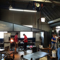 Photo taken at Third Degree Glass Factory by Christine N. on 12/11/2014