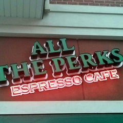 Photo taken at All The Perks by Juston P. on 10/3/2013