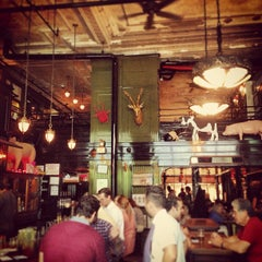 Photo taken at The Breslin Bar & Dining Room by Dimitris S. on 7/24/2013