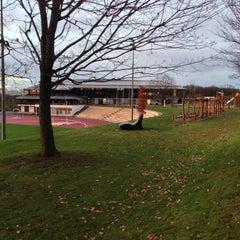 Das Foto wurde bei Ahorn Sportpark von Johannes R. am 11/27/2012 aufgenommen