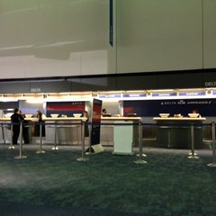Photo taken at Delta Air Lines Ticket Counter by Eric W. on 10/30/2012