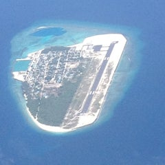Photo taken at Ibrahim Nasir International Airport (MLE) by uvyxycc u. on 4/22/2013