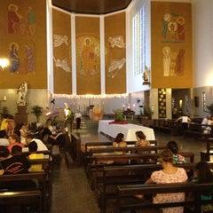 Photo taken at Catedral Santa Teresinha by Luiz Fernando M. on 12/17/2012