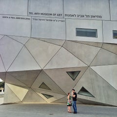 Photo taken at Tel Aviv Museum of Art by David B. on 5/8/2013