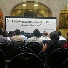 Photo taken at Antigua Sede del Senado de la República by Cesar P. on 2/19/2014