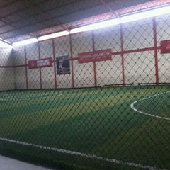 Photo taken at KutaMandiri Futsal by Muhamad R. on 12/27/2012