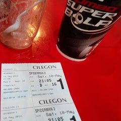 Photo taken at Cinema 21 Cilegon by Titin M. on 5/10/2014
