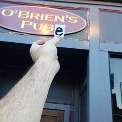 Photo taken at O'Briens Pub by Brad S. on 8/30/2014