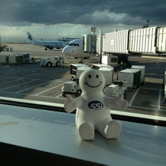 Photo taken at Gate A31 by Andrew S. on 7/21/2013
