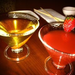 Photo taken at HaChi Restaurant & Lounge by Jen D. on 1/6/2013
