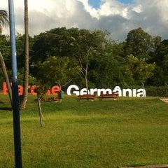 Photo taken at Parque Germânia by Vanessa B. on 2/21/2013