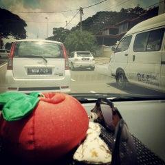 Photo taken at Simpang Empat Semabok by Gina O. on 3/16/2013