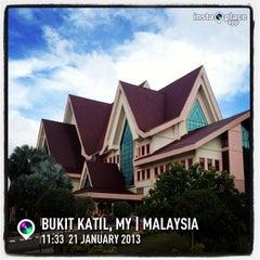 Photo taken at Pejabat Ketua Menteri Melaka by Ong W. on 1/21/2013