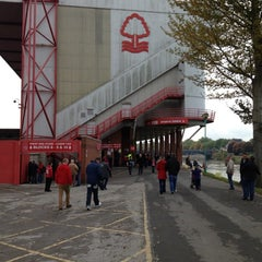 Photo taken at The City Ground by Graham H. on 10/20/2012