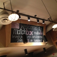 Photo taken at Matchbox Vintage Pizza Bistro by Vee J. on 12/9/2012