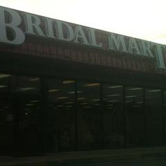 Photo taken at Bridal Mart by Marietta W. on 2/10/2013