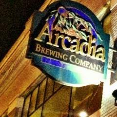 Photo taken at Arcadia Brewing Company by Laurie S. on 12/2/2012