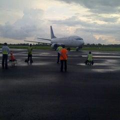 Photo taken at Bandara Fatmawati Soekarno (BKS) by Permana M. on 10/19/2013