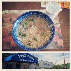 Photo taken at Pho Binh by Kaleb F. on 11/21/2012