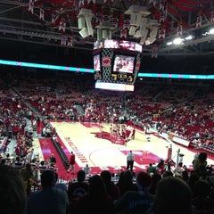 Photo taken at Bud Walton Arena by Marta H. on 12/30/2012