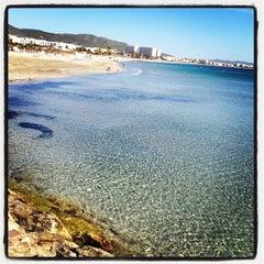 Photo taken at Platja d'En Bossa by Jan M. on 9/24/2012