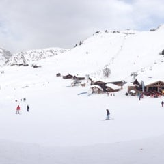 Photo taken at Telecabine Rosay by Roger T. on 2/20/2014