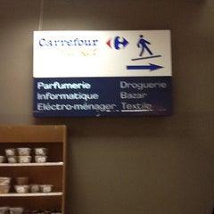 Photo taken at Carrefour Market - Boumhel by Martin .. on 1/24/2013