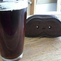 Photo taken at Oakshire Brewing by Elizabeth V. on 10/27/2012
