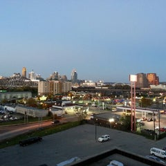 Photo taken at Radisson Hotel Cincinnati Riverfront by Alan C. on 10/21/2012