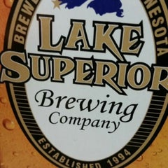 Photo taken at Lake Superior Brewing Co. by Mark W. on 7/24/2015
