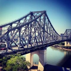 Photo taken at Story Bridge by Adam S. on 10/6/2012