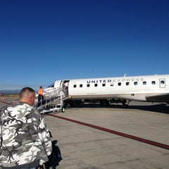 Photo taken at Durango - La Plata County Airport (DRO) by Lauren H. on 10/19/2012