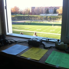 Photo taken at The Rock Bowl @ Loras College by Jim N. on 10/31/2012