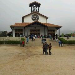 Photo taken at Santuario Santa Teresita de los Andes by Carola B. on 10/14/2012