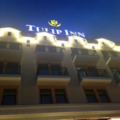 Photo taken at Tulip Inn Rosa Khutor by Elena M. on 6/16/2013