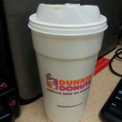 Photo taken at Dunkin' Donuts by Brittani R. on 10/22/2012