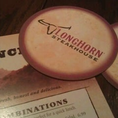 Photo taken at LongHorn Steakhouse by Alexander R. on 12/20/2012