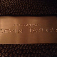 Photo taken at Restaurant Kevin Taylor by Tom W. on 12/24/2013