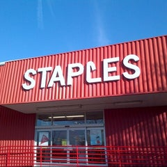 Photo taken at Staples by B n H on 11/19/2013