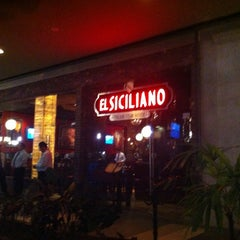 Photo taken at El Siciliano by Roy C. on 10/22/2012