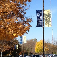 Photo taken at Butler University by Abbi A. on 10/24/2012