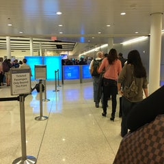 Photo taken at Concourse A by Jasmine O. on 10/9/2015