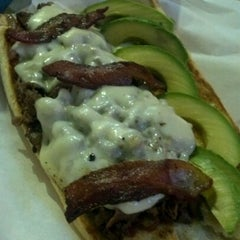 Photo taken at Big House Burgers by Marcos O. on 9/20/2012