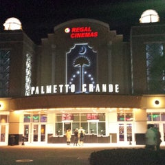 Photo taken at Regal Cinemas Palmetto Grande 16 by Heather W. on 10/29/2013